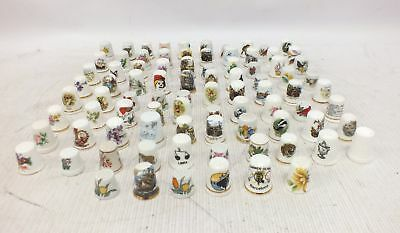 Collection of 88 Bone China THIMBLES Various Brand & Designs - D09