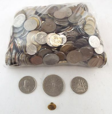 Large Mixed Collection of WORLD COINS From Various Dates Approx 4.1kg - T14