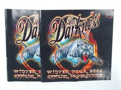2X The Darkness Winter Tour 2004 Official Programme  - L50