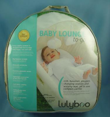 Brand New Lulyboo Baby Lounge To-Go Blf N002 (Natural)Crib, Bassinet, Playpen
