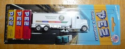 Old Dominion Freight Lines Semi Truck Pez Dispenser With Candy Sealed Rare Promo