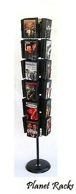 Planet Racks Rotating DVD Movie Floor Display - 3 Styles