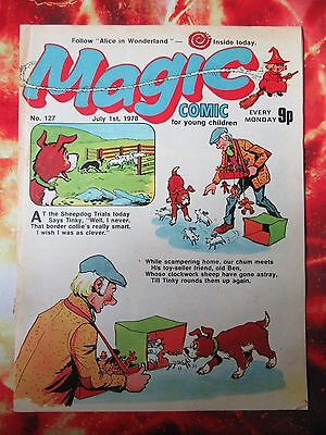 MAGIC COMIC. NO. 26. 24 JULY 1976. FN. With KORKY THE CAT'S NEPHEW COPYCAT