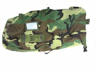"""US ARMY Woodland  24"""" J-list carrying protective ensemble."""