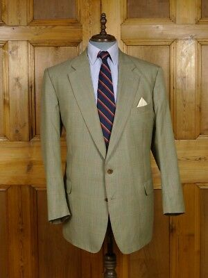 Vintage Burberry Wool Sports Coat Jacket  48