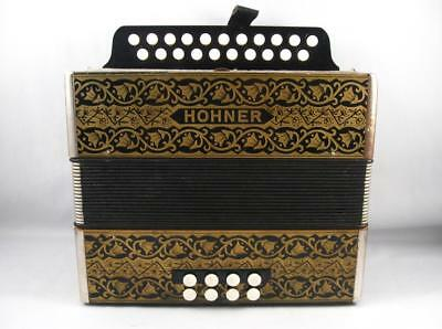 Antique/vintage Hohner Diatonic Accordion In A/d Key