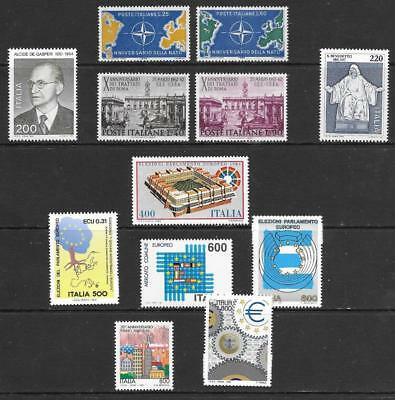ITALY - 12 x MNH stamps (inc. 2 x Sets) - 1959-1997 Period