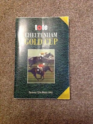 1992 Gold Cup, Signed By All The Jockeys In The Race.