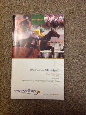Queen Mother Champion Chase 2007. signed by all the Jockeys