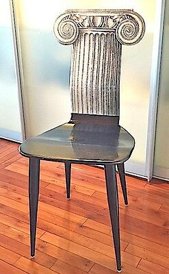 Vintage Fornasetti Chair Capitello Ionico 1991