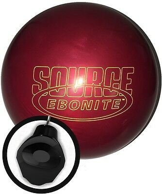 15lb Ebonite Red Source Bowling Ball Rare Release Mission Core New Cover