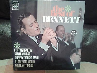 "Tony Bennet EP 7"" single EX"