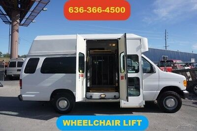 2006 Ford E-Series Van Commercial 2006 Commercial Used 5.4L V8 16V Automatic wheelchair lift raised roof 1 owner