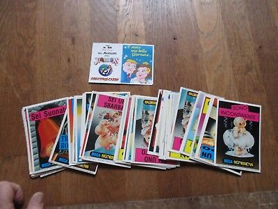 TRADING CARDS MEGA SGORBIONS  lot de 33 differentes + 15 doubles