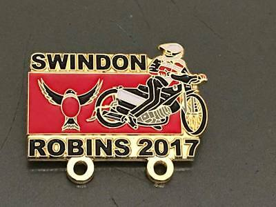 Swindon Robins---2017---Speedway Badge---Gold Metal