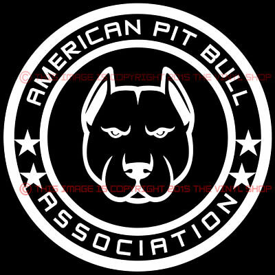 Bully Decal Staffy Pit Bull Car Truck Window Dog Sticker Choice of Colors//Sizes