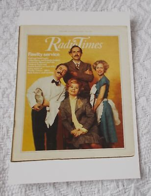 Postcard - Radio Times No. 62 - 17-23 February 1978 - Fawlty Towers - VGC