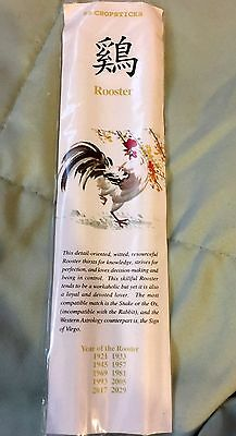 YEAR OF THE ROOSTER New Year Chinese Zodiac Sign Collectible EZ CHOPSTICKS