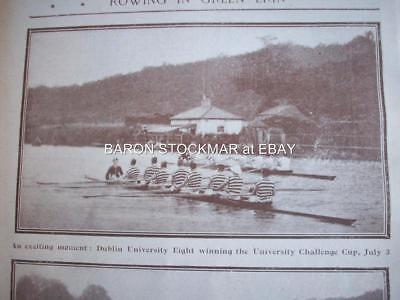1902 ROWING @ Dublin Liffey University Eight  : magazine photo 7