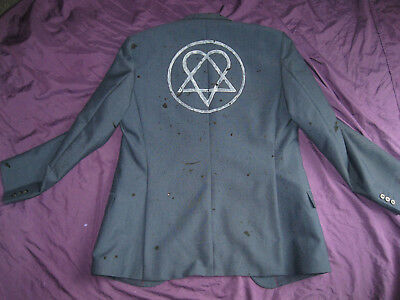 BAM MARGERA HEARTAGRAM JACKET M medium HIM ville valo shirt blazer Farewell Tour