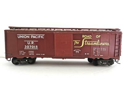 "HO VINTAGE VARNEY Lithographed UP ""ROUTE OF THE STREAMLINERS"" Box Car with KD's"