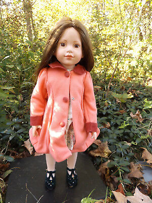 """Magic Attic Club Doll Heather 18"""" With Dress and Jacket"""