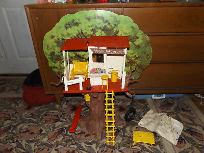 1965 Vintage Ideal Pepper's Tree House With Box 95% Complete