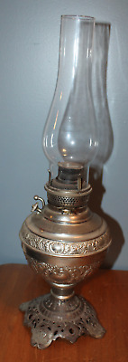 ANTIQUE Oil Lamp NEW JUNO NO 2 Not Electrified