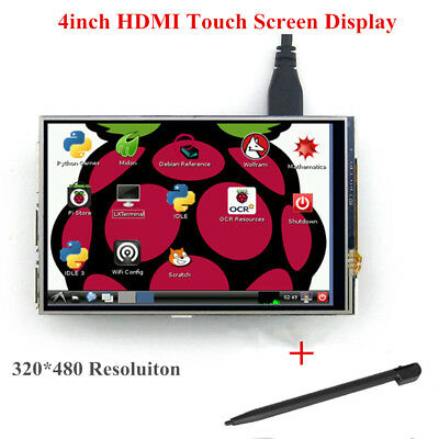 NEW 4inch RPi IPS LCD Module 480 x 320 Touchscreen for Raspberry Pi Model B/B+