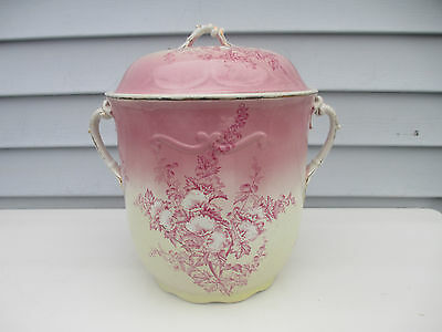 Antique Chamber Pot Slop Thunder Jug Alba China Sona Fama Melior Zona Aurea