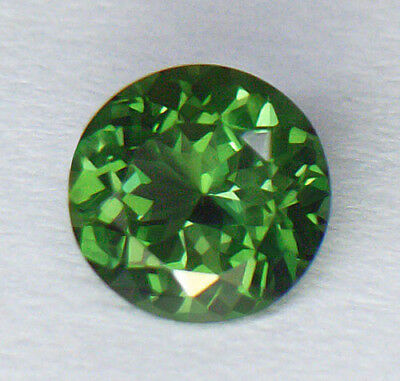 100% Natural And Unheated Pure Green Color Portuguese Round Cut Apatite