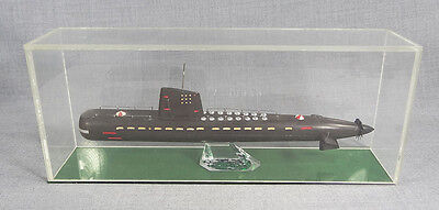 1960 Russian Officer Desk Resin Model Ballistic Nuclear Submarine U-Boat 13''