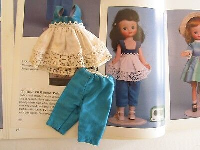 Vintage Tiny Betsy McCall #9153 TV Time Top and Pants