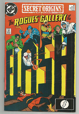 Secret Origins # 41 * The Rogues' Gallery * 1989