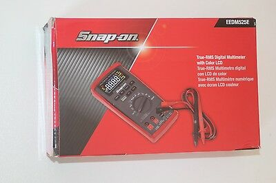Snap-On Auto-Range Digital Multimeter With True-RMS & Colour Display RRP$803.53