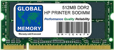 512Mb Ddr2 Hewlett-Packard Laserjet Enterprise 4000 Series Printer Ram (Ce467A)