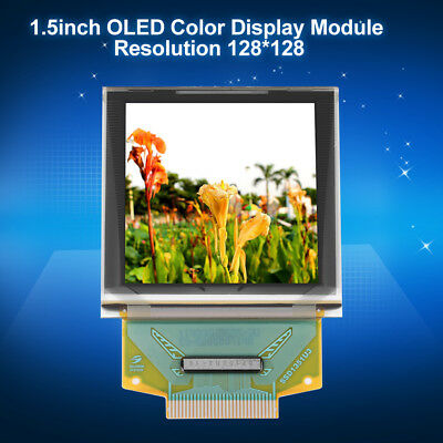 """1.5"""" inch 128x128 SSD1351 Color OLED Display Module 3.5V for Arduino"""