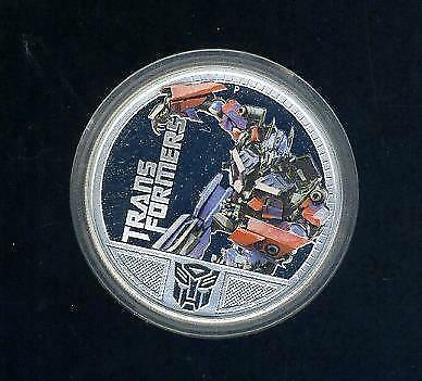 2009 Tuvalu Perth Mint 1oz Silver Proof Coin, Transformers Megatron