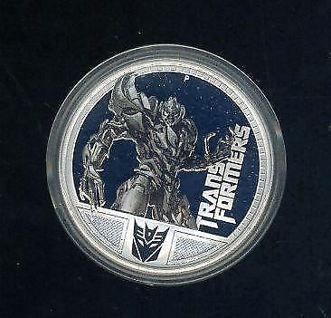 2009 Tuvalu Perth Mint 1oz Silver Proof Coin, Transformers Optimus Prime