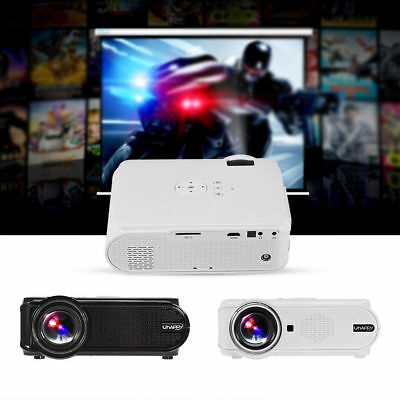 1500Lúmenes 1080P Full HD Proyector 3D LED Home Teatro Cinema HDMI/USB/TV/SD/AV