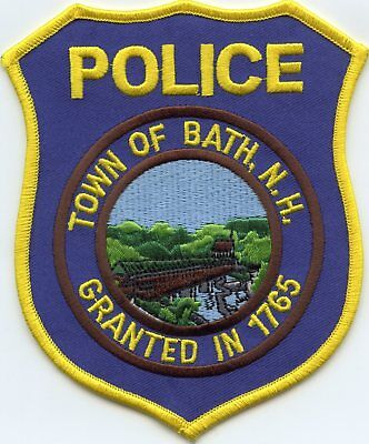 BATH NEW HAMPSHIRE NH Covered Bridge POLICE PATCH