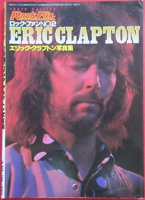 Eric Clapton Photo Book 1977 Rock Fun Special Issue No.2 Japan