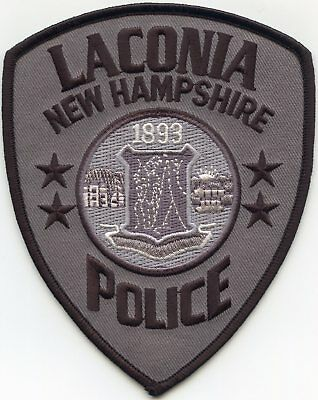 Laconia New Hampshire Nh Police Patch