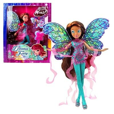 World of Winx - Dreamix Fairy Puppe - Fee Layla Aisha magisches Gewand