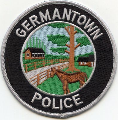 GERMANTOWN TENNESSEE TN Horse POLICE PATCH