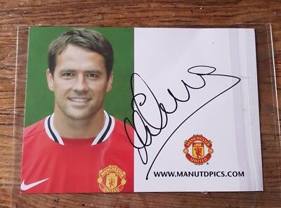 Michael  Owen       Hand  Signed