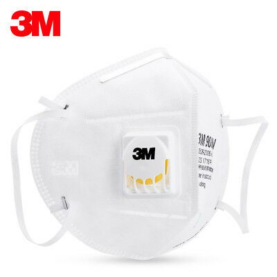 3M 9001V dust respirator folding protection mask PM2.5 hanging ear type(1-50pcs)