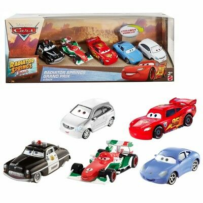 Disney Cars Cast 1:55 - Gift Pack Radiator Springs Grand Prix - 5 Vehículos