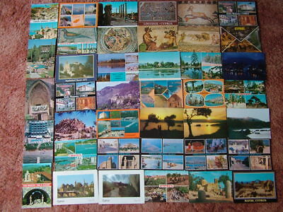 40 Unused Postcards of/from CYPRUS. Good condition.