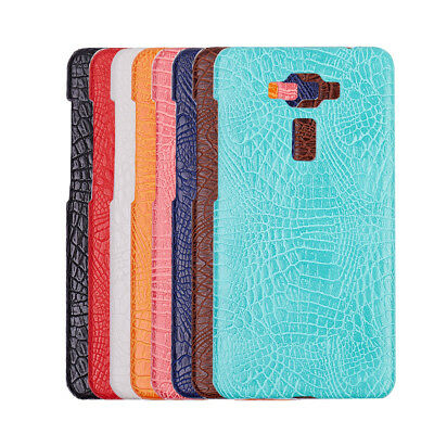 Crocodile leather hard back shell case cover For Asus ZenFone 3 Deluxe ZS550KL